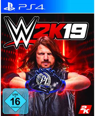 2K Games WWE 2K19 PS4 USK: 16 (5026555424707)