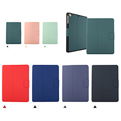 Case For Apple iPad 2 3 4 Air Air2 Air3  ipad pro 9.7 ipad pro 10.5 ipad 10.2(2019) Shockproof Flip Full Body Cases  PU Leather TPU with pencil holder Solid Colored Auto Sleep Wake Up magnetic buckle