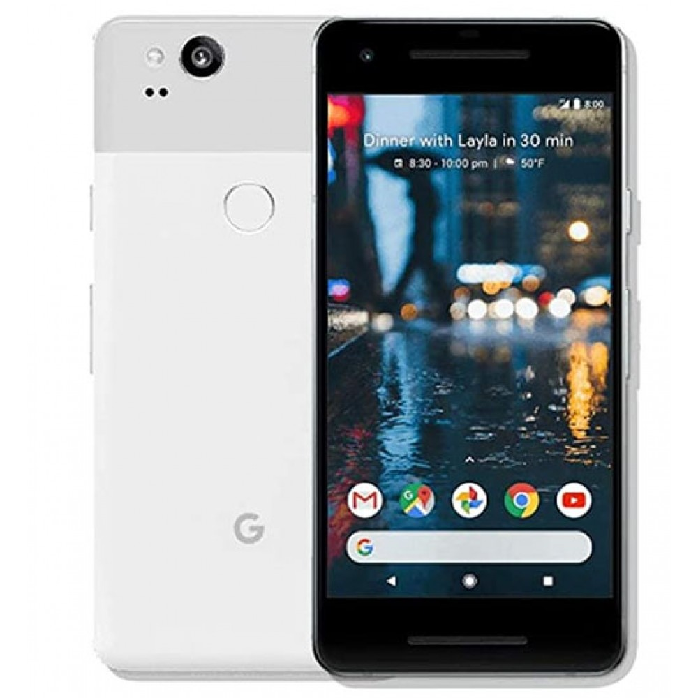 Google Pixel 2 XL 128GB Clearly White GSM Unlocked