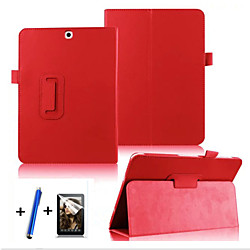 Case For Samsung Galaxy / Tab S2 9.7 360° Rotation / with Stand / Flip Full Body Cases Solid Colored Hard PU Leather