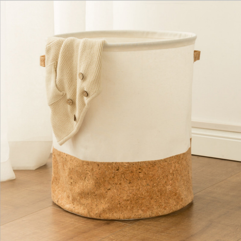 Soft Wooden Bottom Storage Bucket