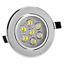 8W 7-LED High-Power 560LM 6000K Cool White Light LED Ceiling Bulb (220-240V)