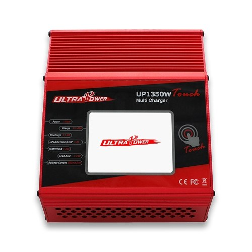 ULTRA PUISSANCE UP1350W Touch 1350 W Haute Puissance 1-8 S LiIo / LiPo / LiFe / LiHV / NiCd / NiMH Batterie Chargeur Déchargeur Discharger