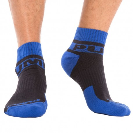 Pump! 2-Pack All-Sport Panther Socks - Black - Royal TU