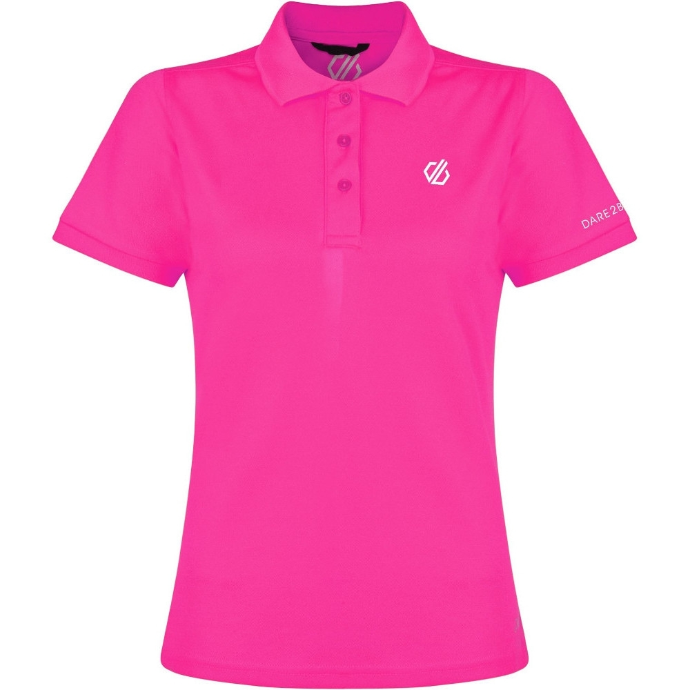 Dare 2B Womens Set Forth Lightweight Cycling Polo Top 16 - Bust 40' (102cm)