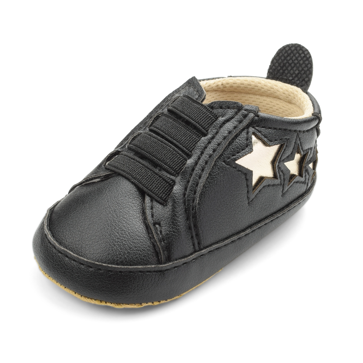 Baby / Toddler Stylish Stars Decor Solid Prewalker Shoes