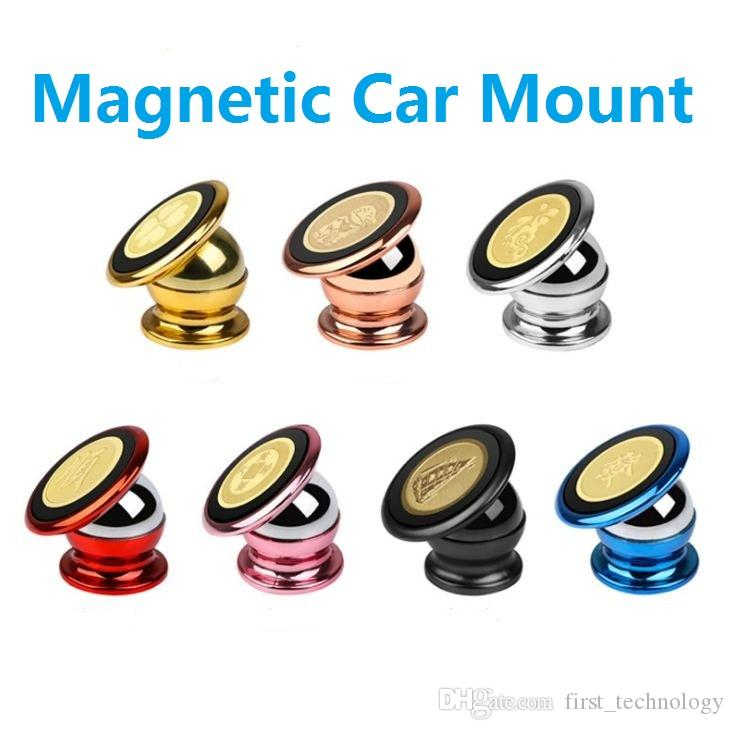 Magnetic Car Mount Kit Sticky Stand Holder For Iphone X 8 Plus Samsung Logo Can Be Customized