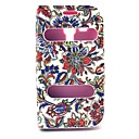 Retro Sunflower Design PU Leather Full Body Case with Stand for Samsung Galaxy Trend Duos S7562