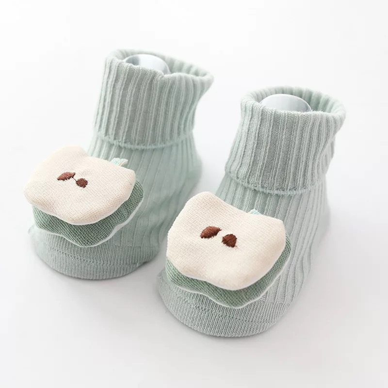 Baby / Toddler Fruit Applique Decor Knitted Socks