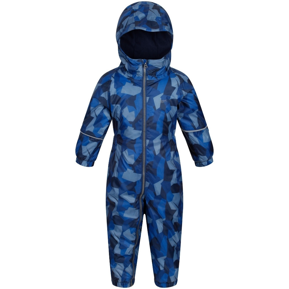 Regatta Boys & Girls Babies Printed Splat II Waterproof Rainsuits 48-60 Months