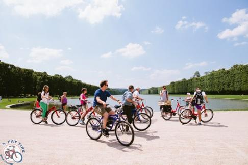 Fat Tire Tours - Versailles Castle & Gardens Tour with Fast Track Ticket