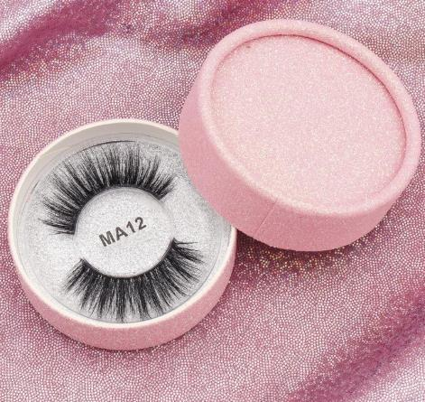 stock 16 styles 3d faux mink eyelashes false mink eyelashes 3d silk protein lashes 100% handmade natural fake eye lashes with pink gift box