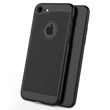 Mesh Dissipating Heat Fingerprint Resistant Hard PC Shockproof Back Case For iPhone 6/6s 4.7""
