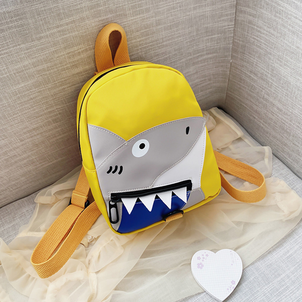 Nylon Shark Backpack for Children