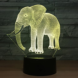 3D Nightlight Creative USB 1pc Lightinthebox