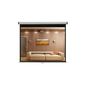 MEDIUM Home Cinema Design Roll Electric IR - Leinwand - motorized - 230 V - 220 cm (87 ) - 16:9 - Type D, Matt White - silbergrau (16273)