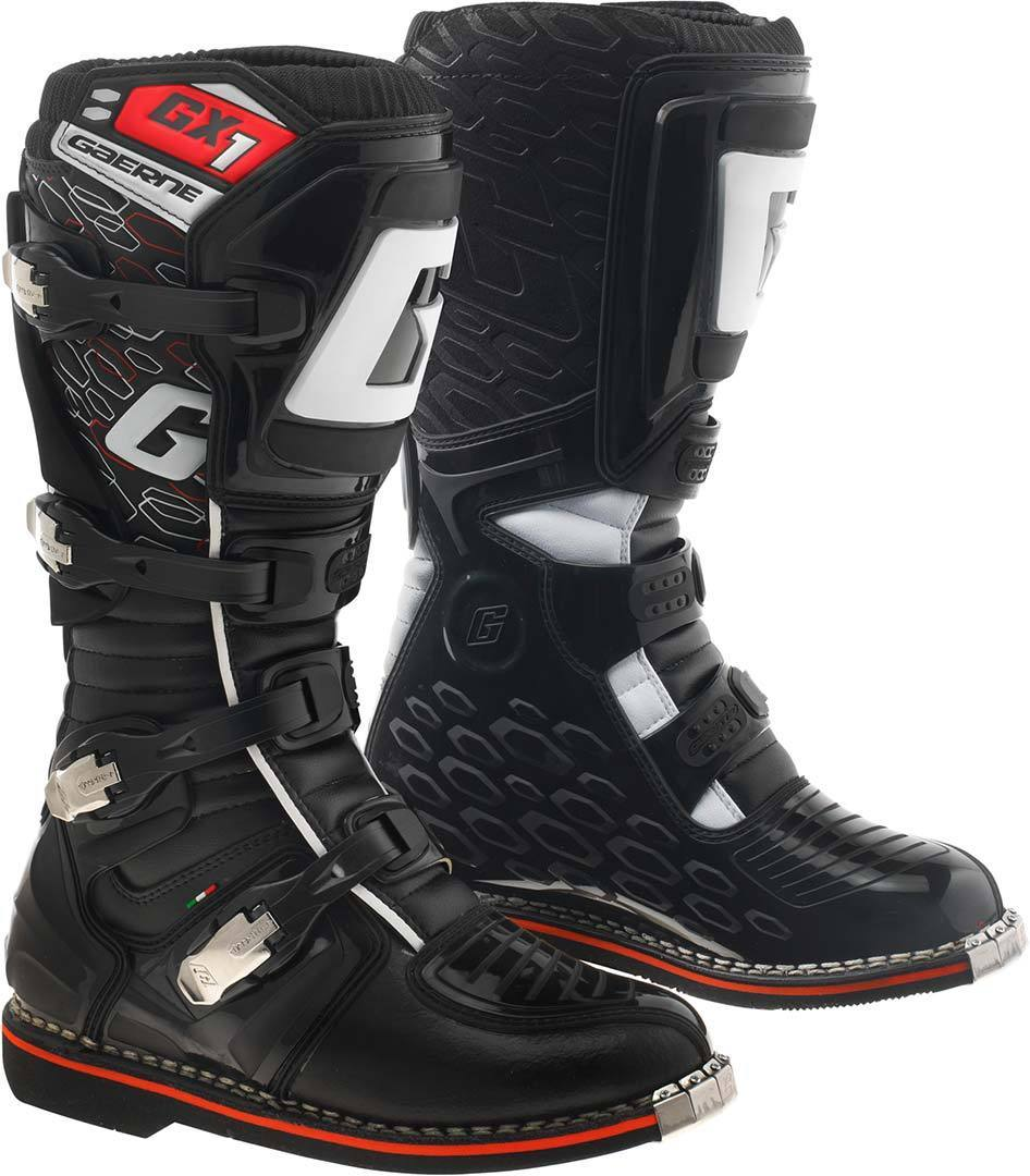 Gaerne GX-1 Goodyear Motocross Boots, black, Size 40, black, Size 40
